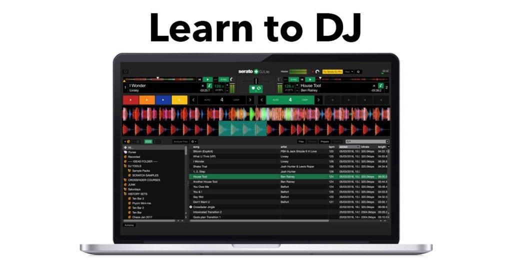 learn to dj online