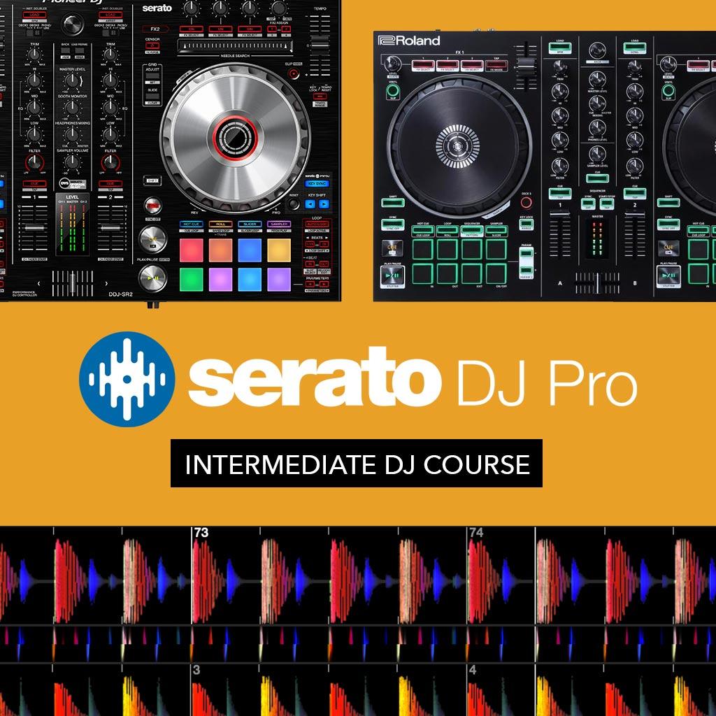 Serato DJ – Intermediate Online DJ Course