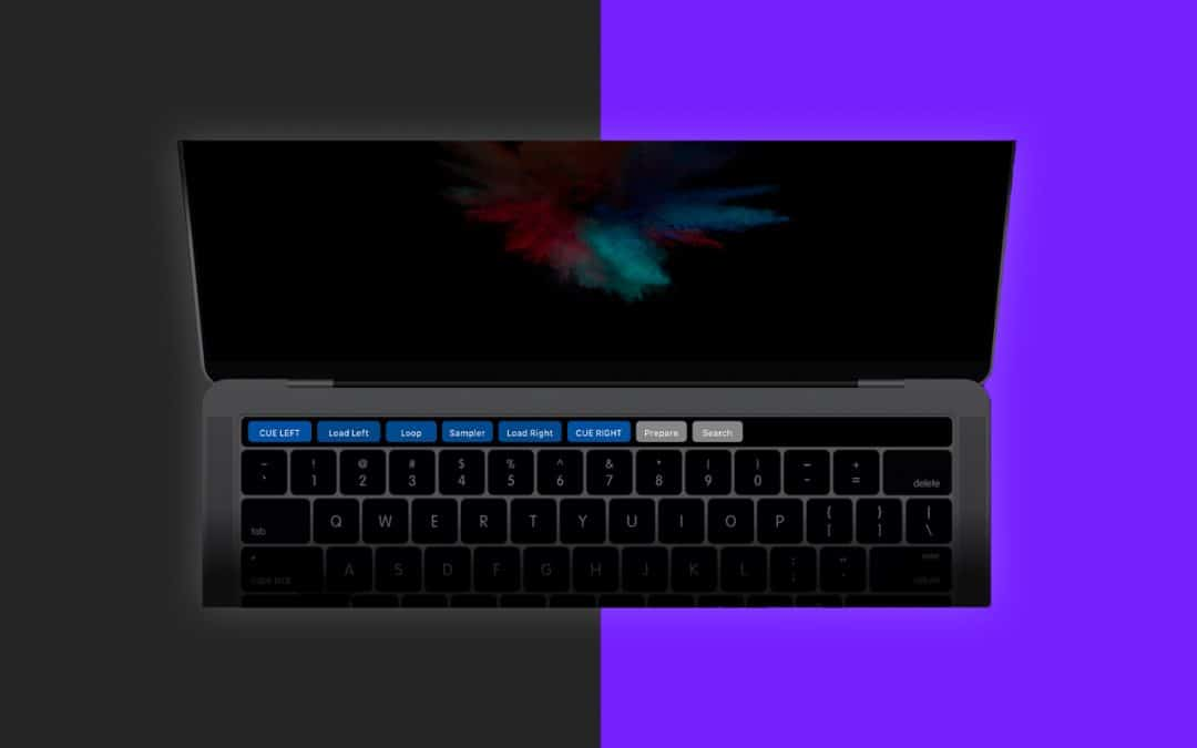 DJ with the Touch Bar